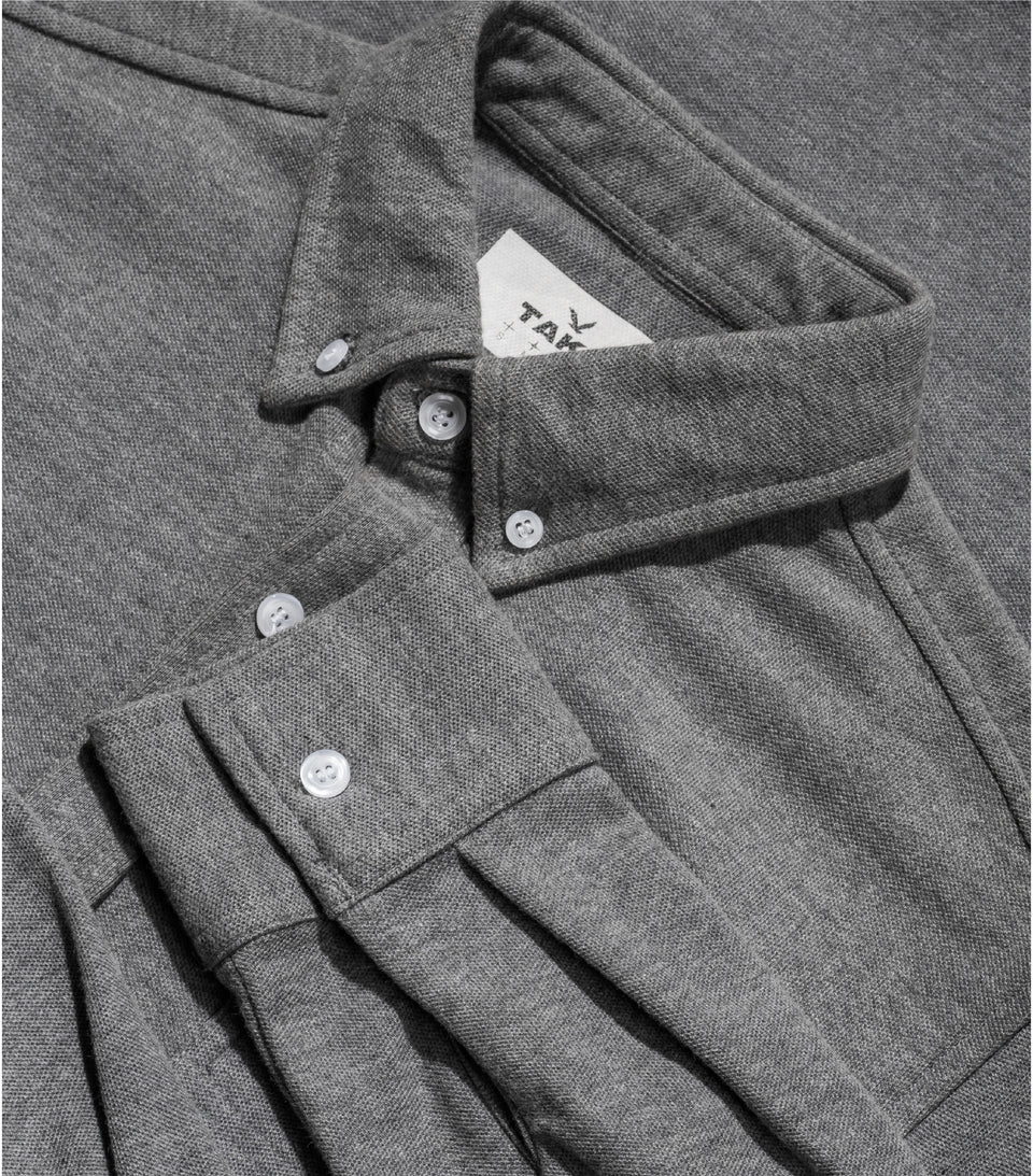 PQ CLASSIC LONG SLEEVE GREY