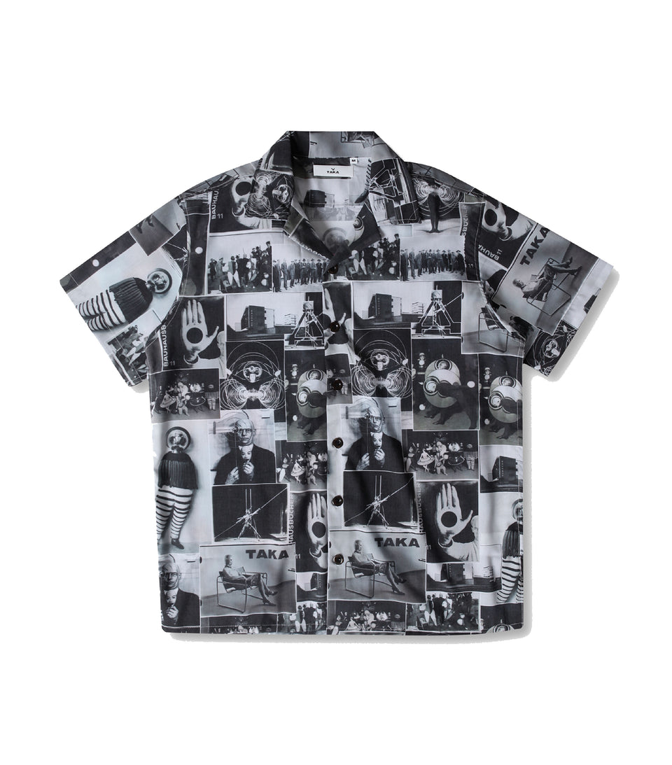 MECHANIC SHIRT BAUHAUS PRINT