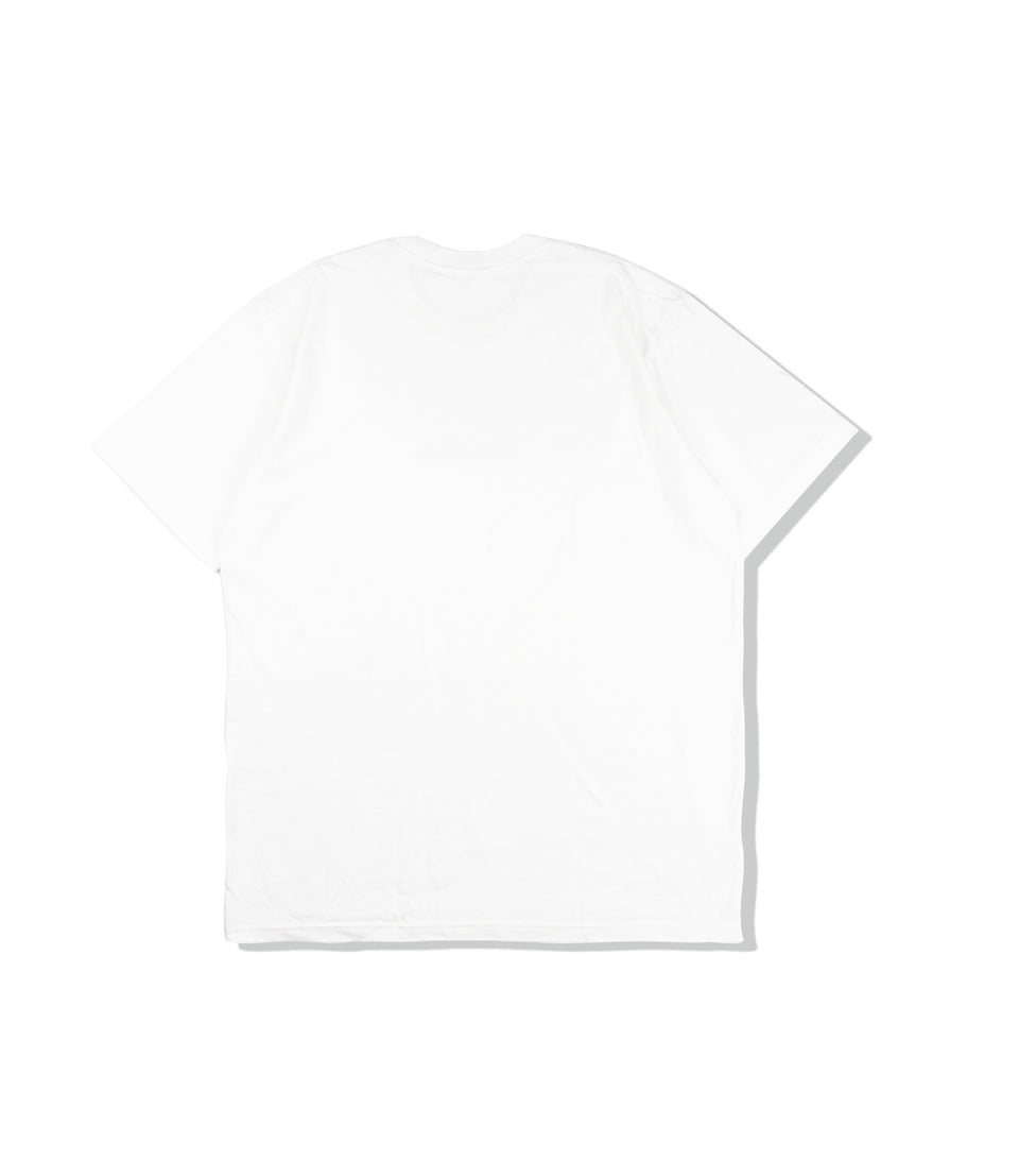 HEAVY COTTON POCKET TEE WHITE