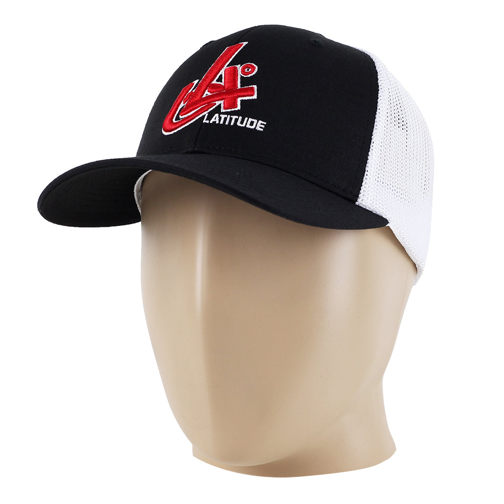 Latitude 64 Degrees Fitted Trucker Hat Flexfit