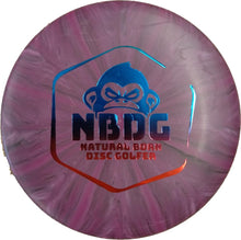 Load image into Gallery viewer, NBDG Badge burst mini disc