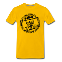 Load image into Gallery viewer, NBDG Circle 3.0 - Men's Premium T-Shirt - sun yellow