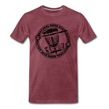 Load image into Gallery viewer, NBDG Circle 3.0 - Men's Premium T-Shirt - heather burgundy