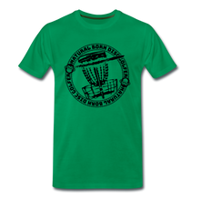 Load image into Gallery viewer, NBDG Circle 3.0 - Men's Premium T-Shirt - kelly green