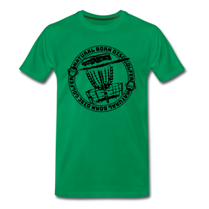 NBDG Circle 3.0 - Men's Premium T-Shirt - kelly green