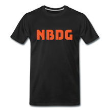 Load image into Gallery viewer, NBDG Bar Logo - Men's Premium T-Shirt - black