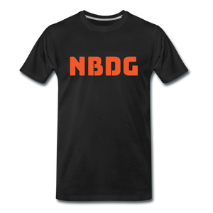 NBDG Bar Logo - Men's Premium T-Shirt - black