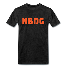 Load image into Gallery viewer, NBDG Bar Logo - Men's Premium T-Shirt - charcoal grey