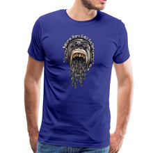 Load image into Gallery viewer, NBDG Throw-Up - Men's Premium T-Shirt - royal blue