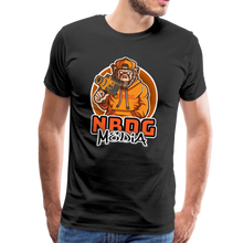 Load image into Gallery viewer, NBDG Urban Camera Monkey - Men's Premium T-Shirt - black