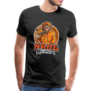 NBDG Urban Camera Monkey - Men's Premium T-Shirt - black