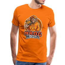 Load image into Gallery viewer, NBDG Urban Camera Monkey - Men's Premium T-Shirt - orange