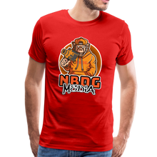 Load image into Gallery viewer, NBDG Urban Camera Monkey - Men's Premium T-Shirt - red