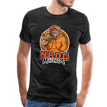 Load image into Gallery viewer, NBDG Urban Camera Monkey - Men's Premium T-Shirt - charcoal grey