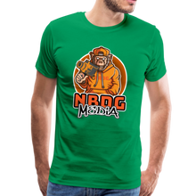 Load image into Gallery viewer, NBDG Urban Camera Monkey - Men's Premium T-Shirt - kelly green