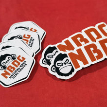 Load image into Gallery viewer, NBDG Head Bar Logo - sticker