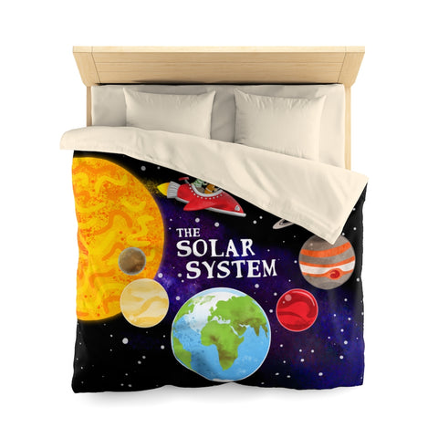 The Solar System Duvet Cover