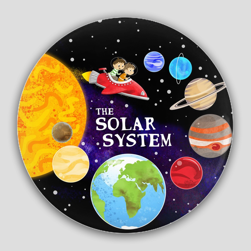The Solar System Pin Buttons