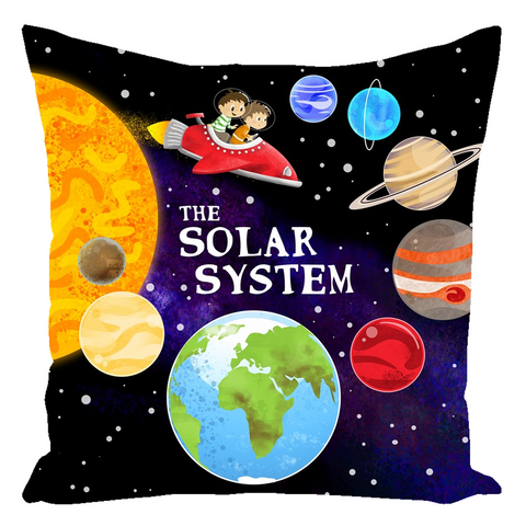 The Solar System Throw Pillows