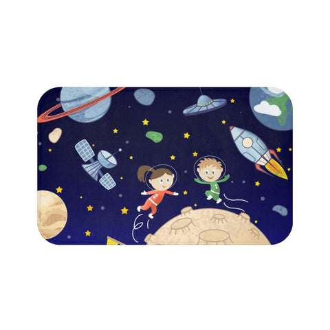 Space kids Bath Mat - Krokoneil