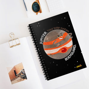 Jupiter the Bodyguard Spiral Notebook - Ruled Line