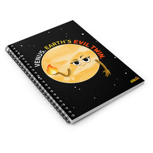 Venus the Evil Twin Spiral Notebook - Ruled Line