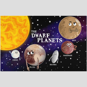 The Dwarf Planets Placemat