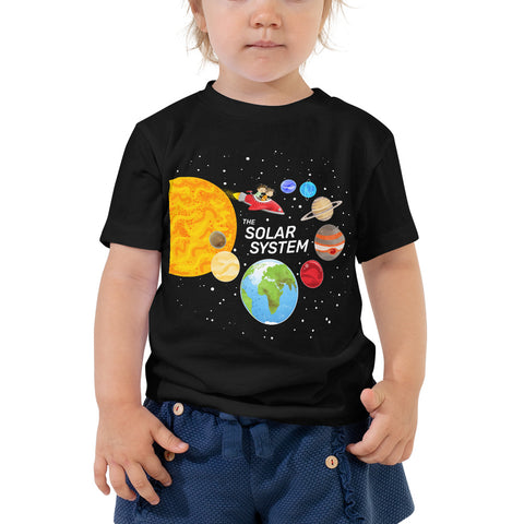 The Solar System 2-5T Toddler T-Shirt