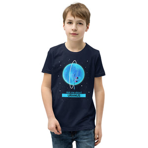 Ask Me About Uranus Youth T-Shirt