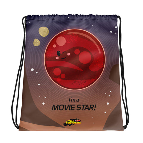 Mars Movie Star Drawstring bag