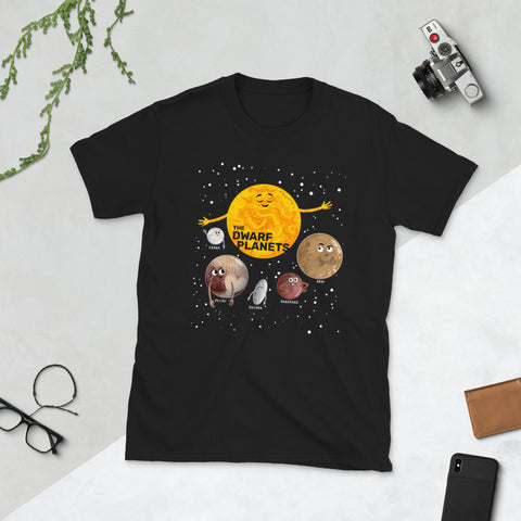 The Dwarf Planets Adult Unisex T-Shirt