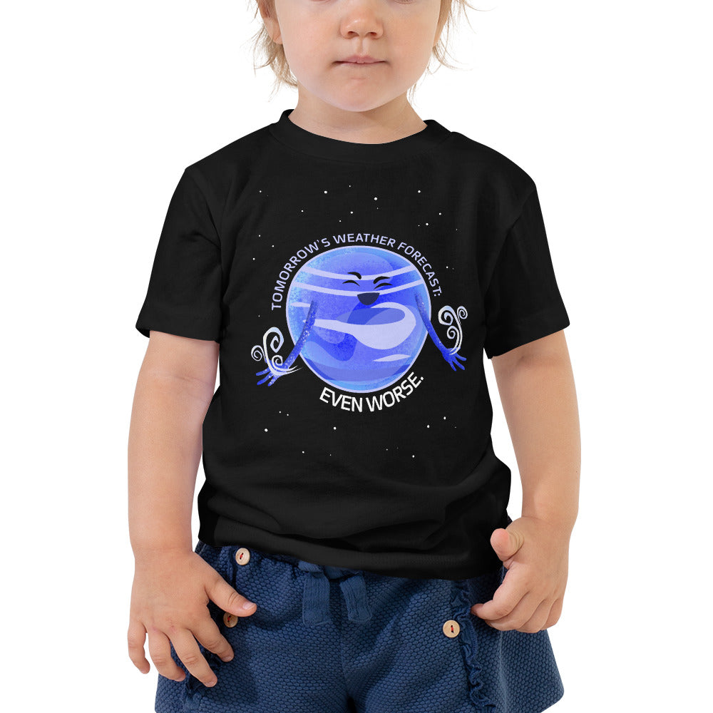 Neptune's Bad Weather 2T-5T Toddler Tee