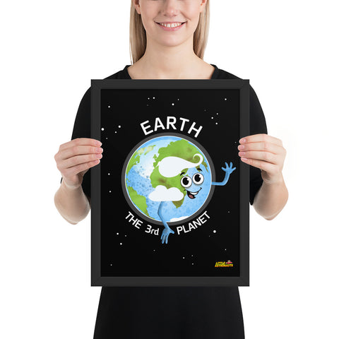 Planet Earth Framed Poster