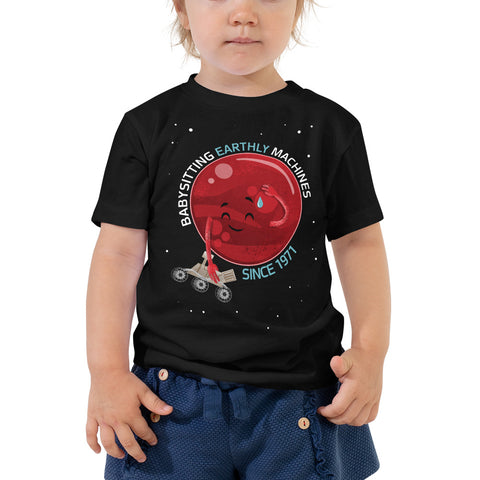 Mars and Rovers Toddler T-Shirt