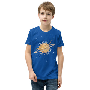 Saturn's Rings Youth T-Shirt