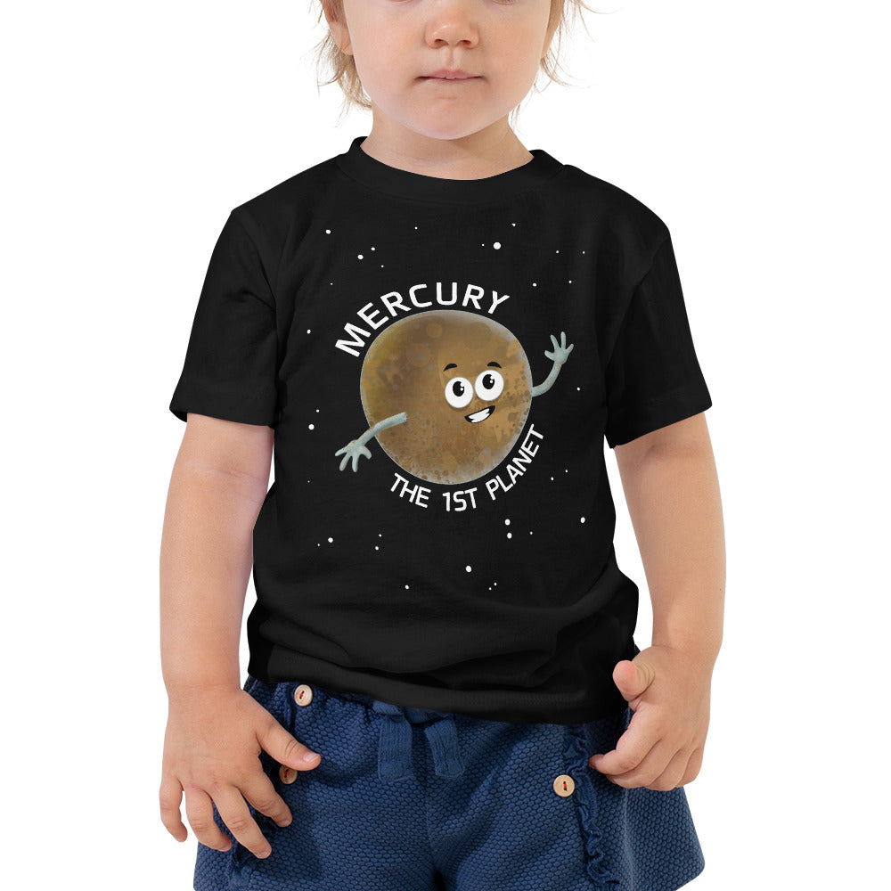 Planet Mercury 2-5T Toddler T-Shirt