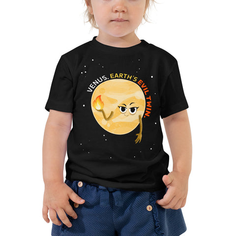 Venus the Evil Twin 2-5T Toddler T-Shirt