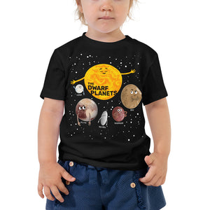 The Dwarf Planets 2T-5T Toddler T-Shirt