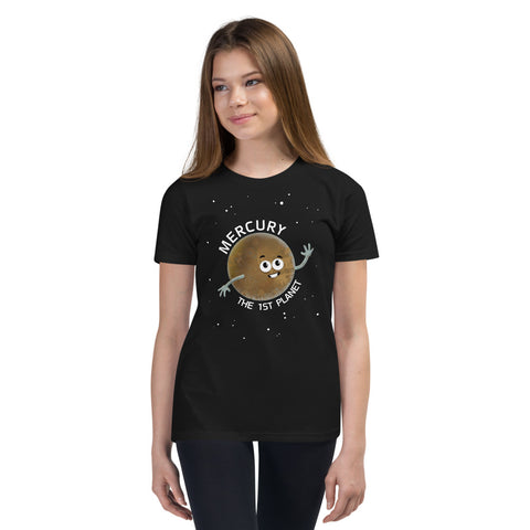 Planet Mercury Youth T-Shirt