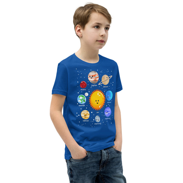Kawaii Solar System Youth T-Shirt