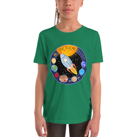 Solar System Patch Youth T-Shirt