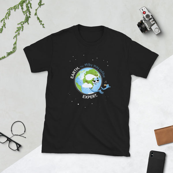 Earth Coffee Expert Unisex T-Shirt