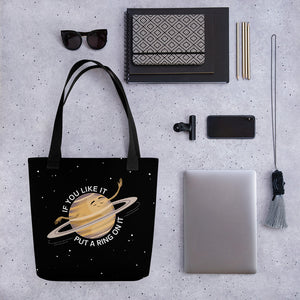Saturn's Ring Tote Bag