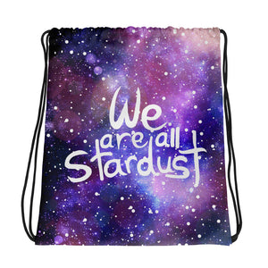 We are all Stardust Drawstring bag - Krokoneil