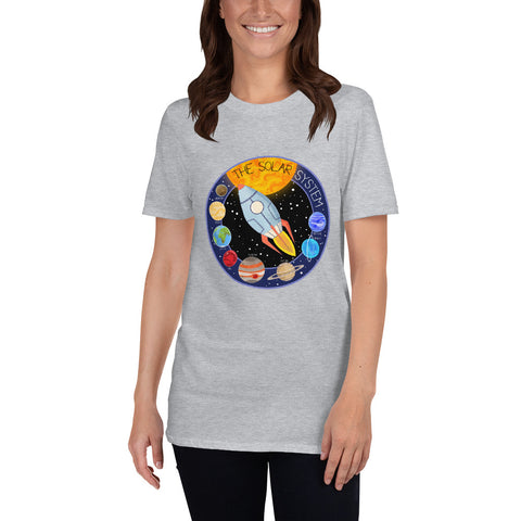 Solar System Patch Adults T-Shirt