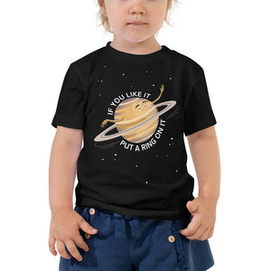 Saturn's Ring 2-5T Toddler T-Shirt