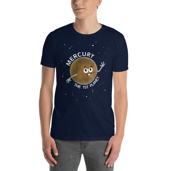Planet Mercury Adults T-Shirt