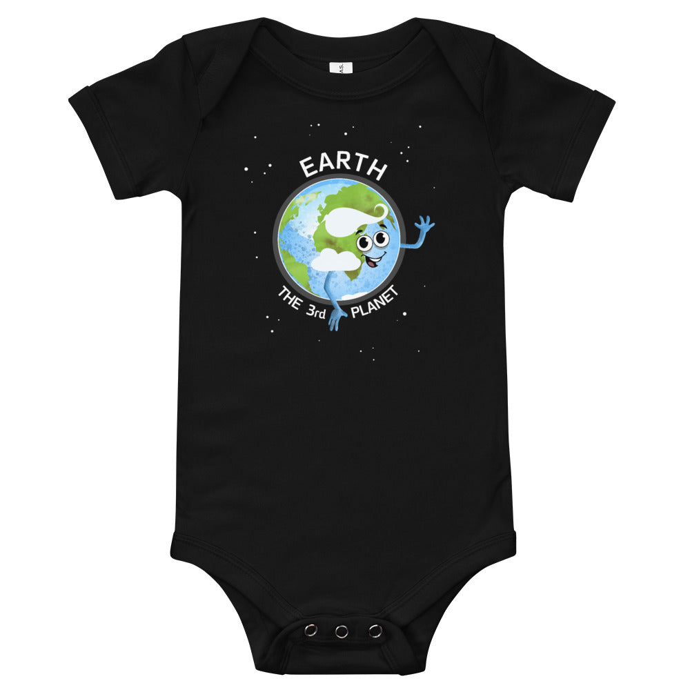 Planet Earth 3M-24M Baby Bodysuit