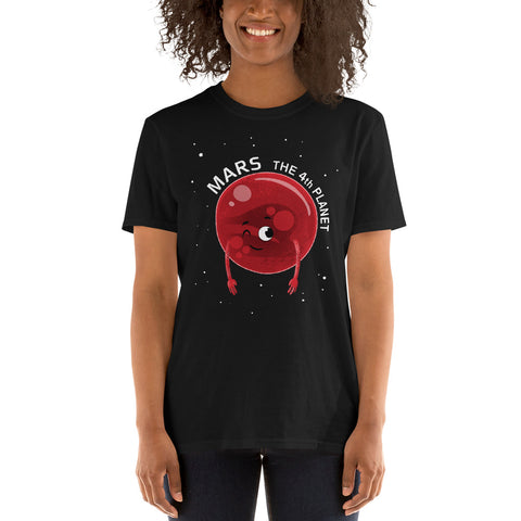 Planet Mars Adults T-Shirt