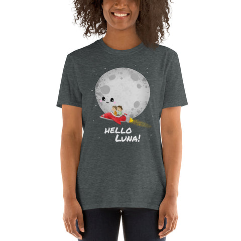 Hello Luna! Adult Unisex T-Shirt